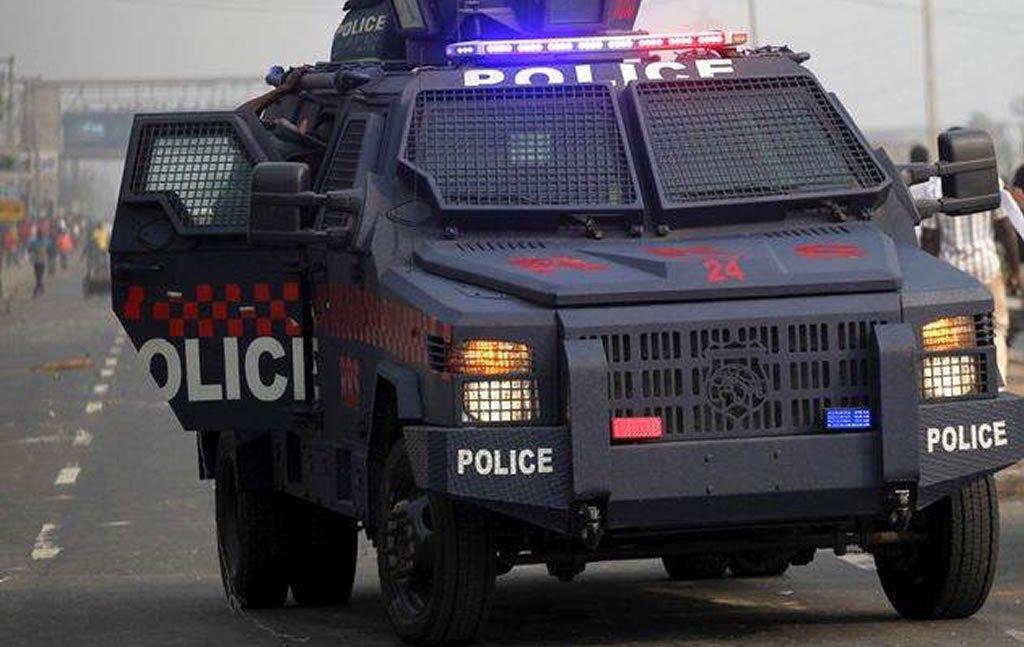 lagos police truck
