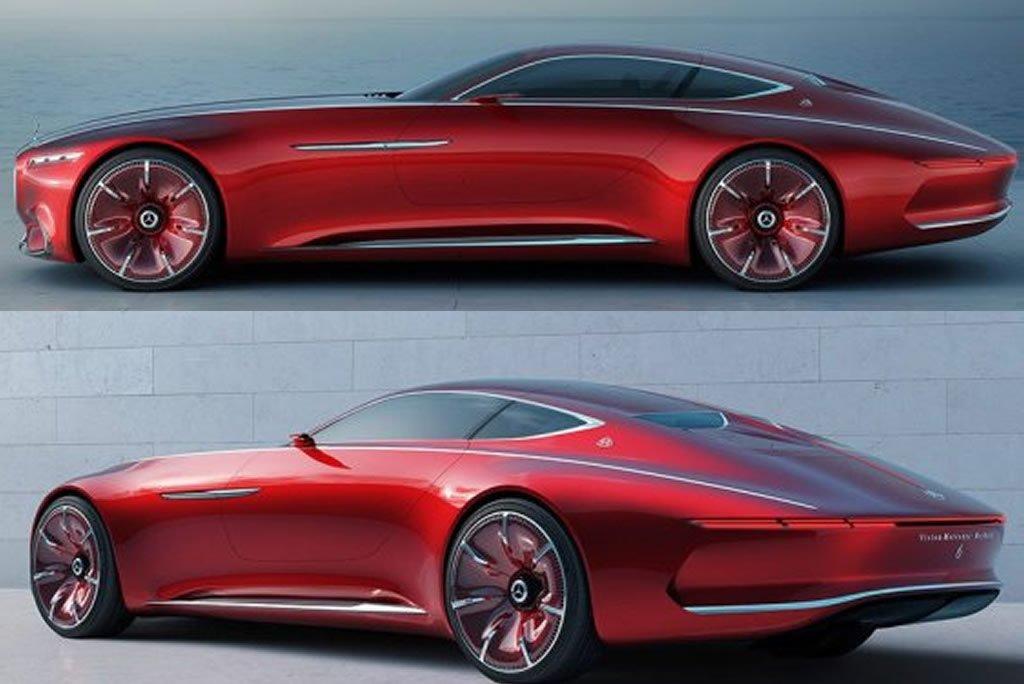Omg Photos Mercedes Unveils Their New Maybach Super Car