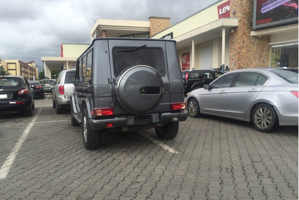 ikeja mall parking