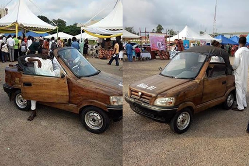 wood car in nigeria
