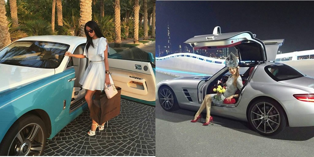 Dubai Rich Kids Show Off Pictures Of Their Flashy Cars