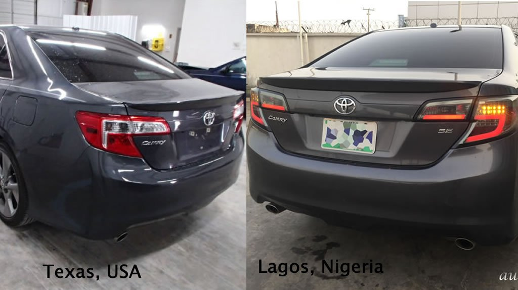 car from USA