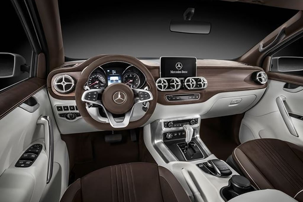 Mercedes Benz X class pickup