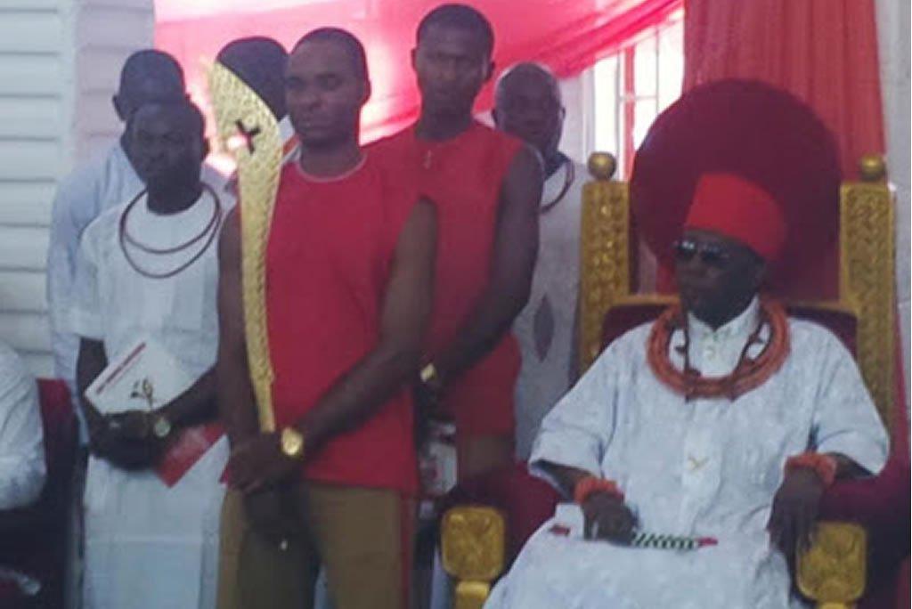 Oba-of-Benin-Oba-Ewuare-II