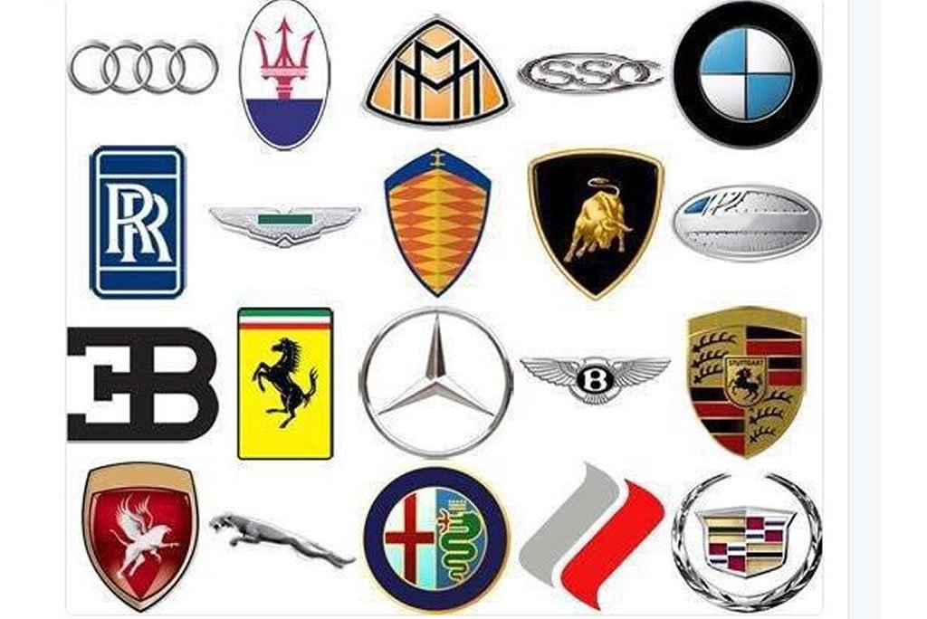 you are a real car freak if you can mention the names of