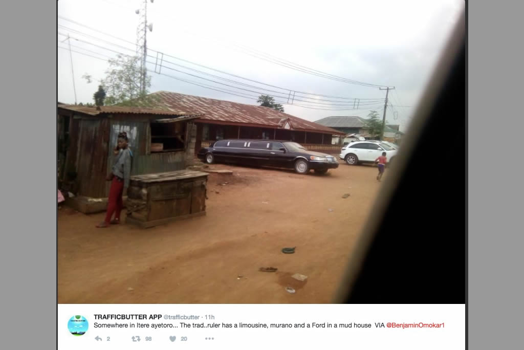 traditional ruler's limo