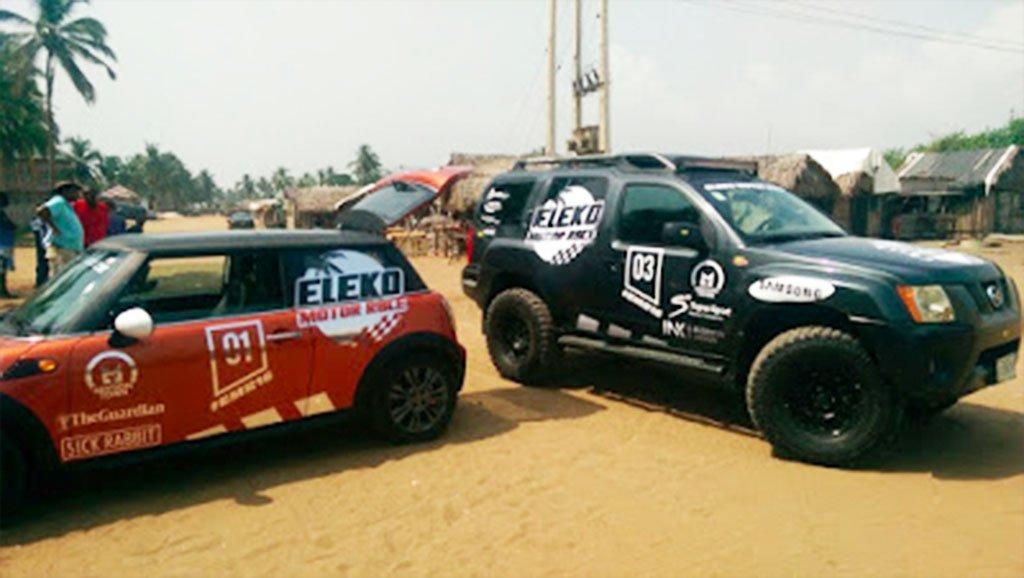 eleko beach motor race