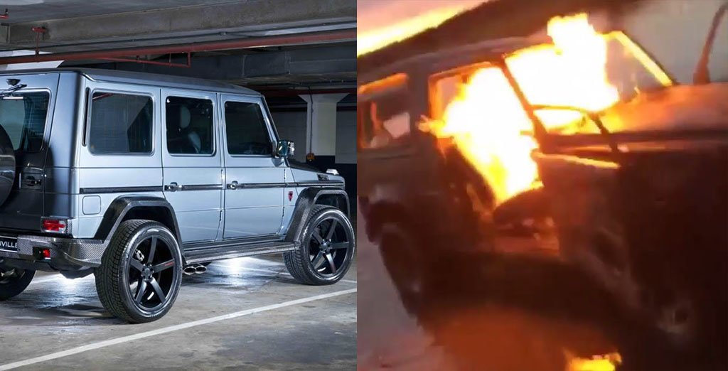 wealthy-kids-burn-N60m-Ben-g-wagon