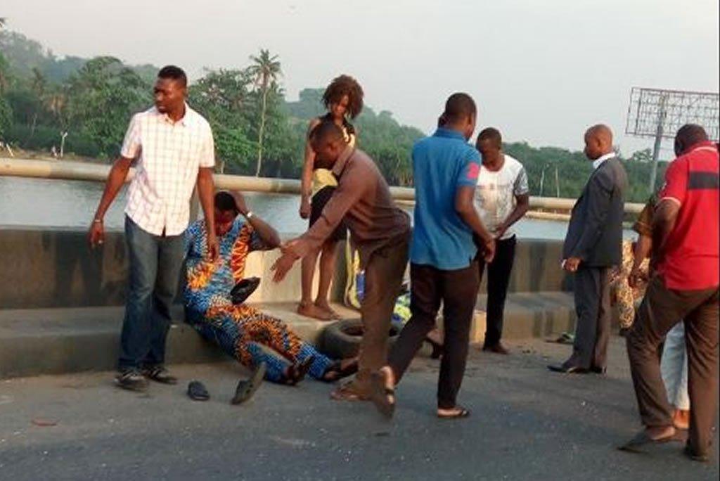 accident on 3rd mainland bridge
