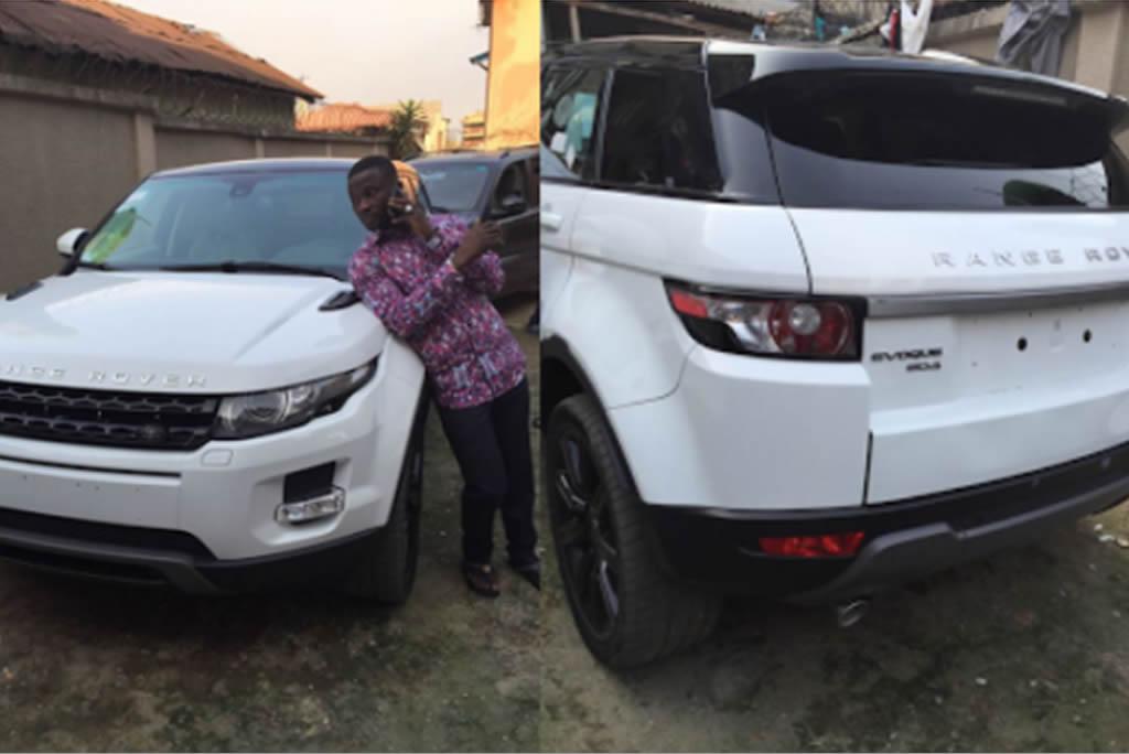 Maliaka buys Range Rover E-vogue