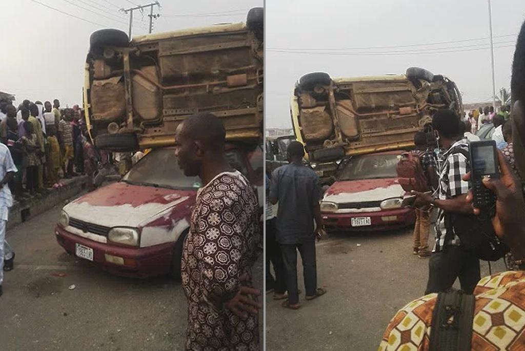 most-unique-car-accident
