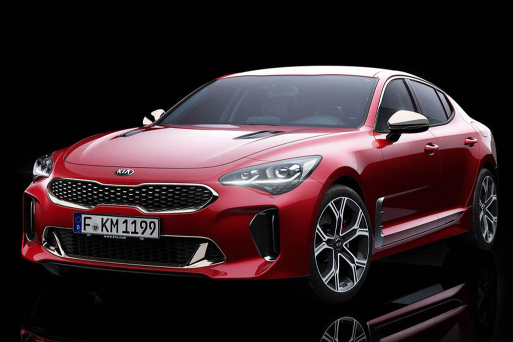 new 2017 kia stinger gt has just been revealed