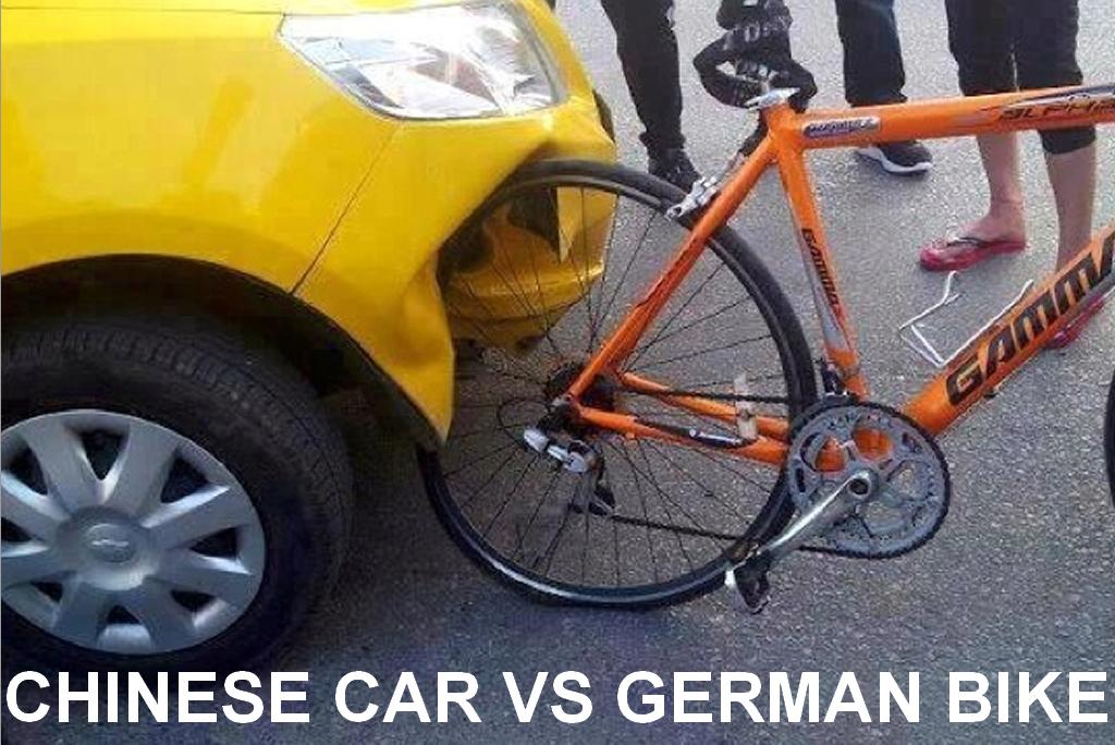 chinese-car-vs-german-bike