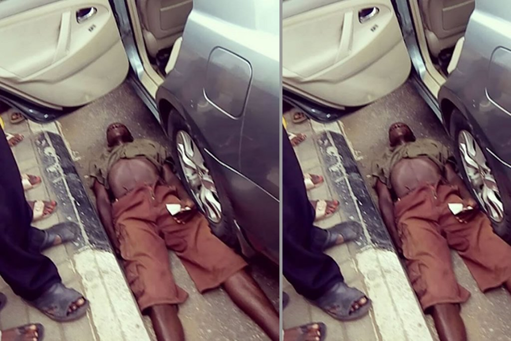 Lagos-beggar-pretends