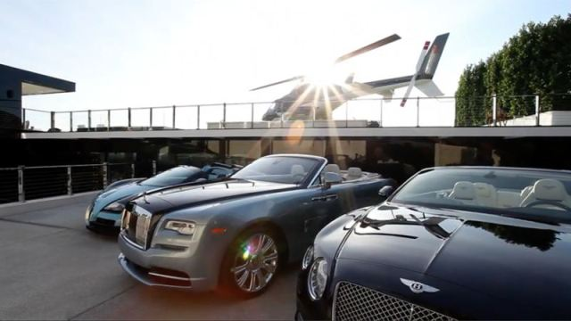 cars that comes with the most expensive house 3