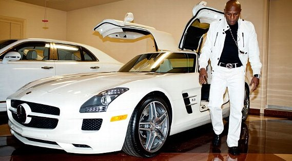 Floyd Mayweather car collections