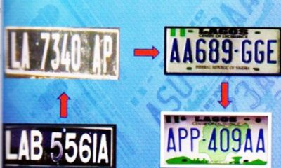 Nigeria Vehicle Plate Number
