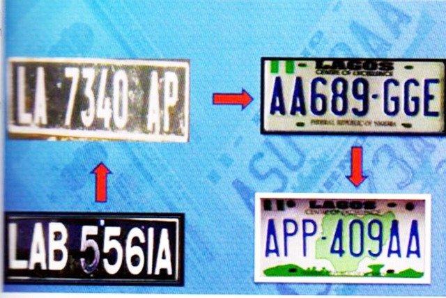 Nigeria Vehicle Plate Number