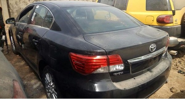 Vehicles Recovered By EFCC