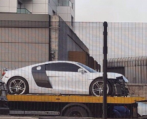 Davido's Audi R8
