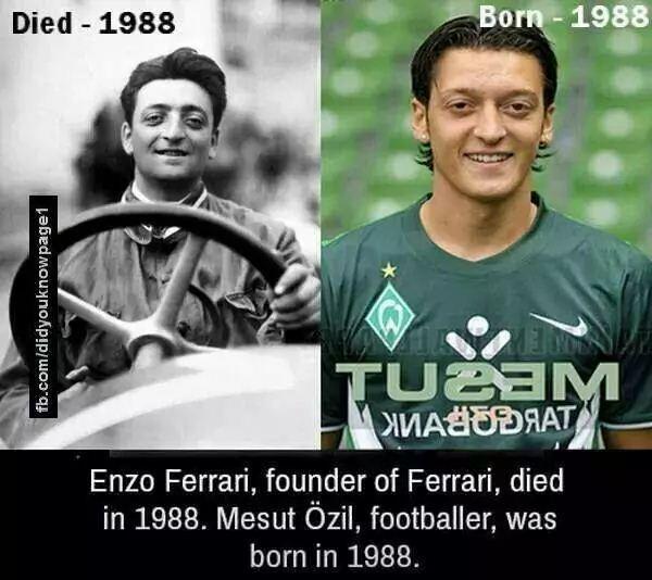 ferrari and ozil
