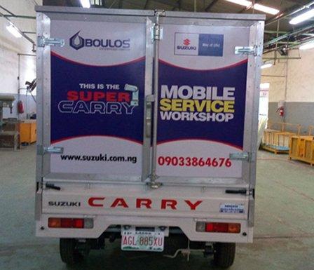 suzuki mobile workshop