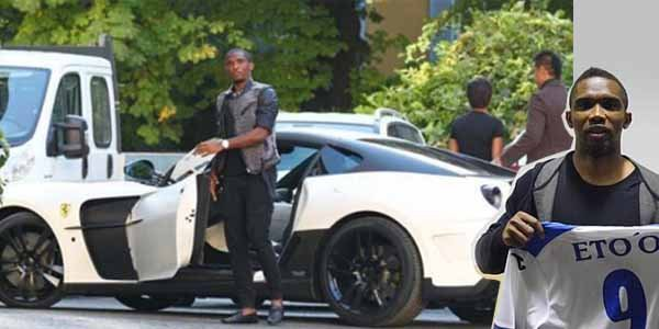 cars owned by footballers