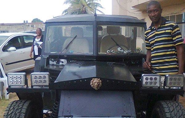 locally made vehicle
