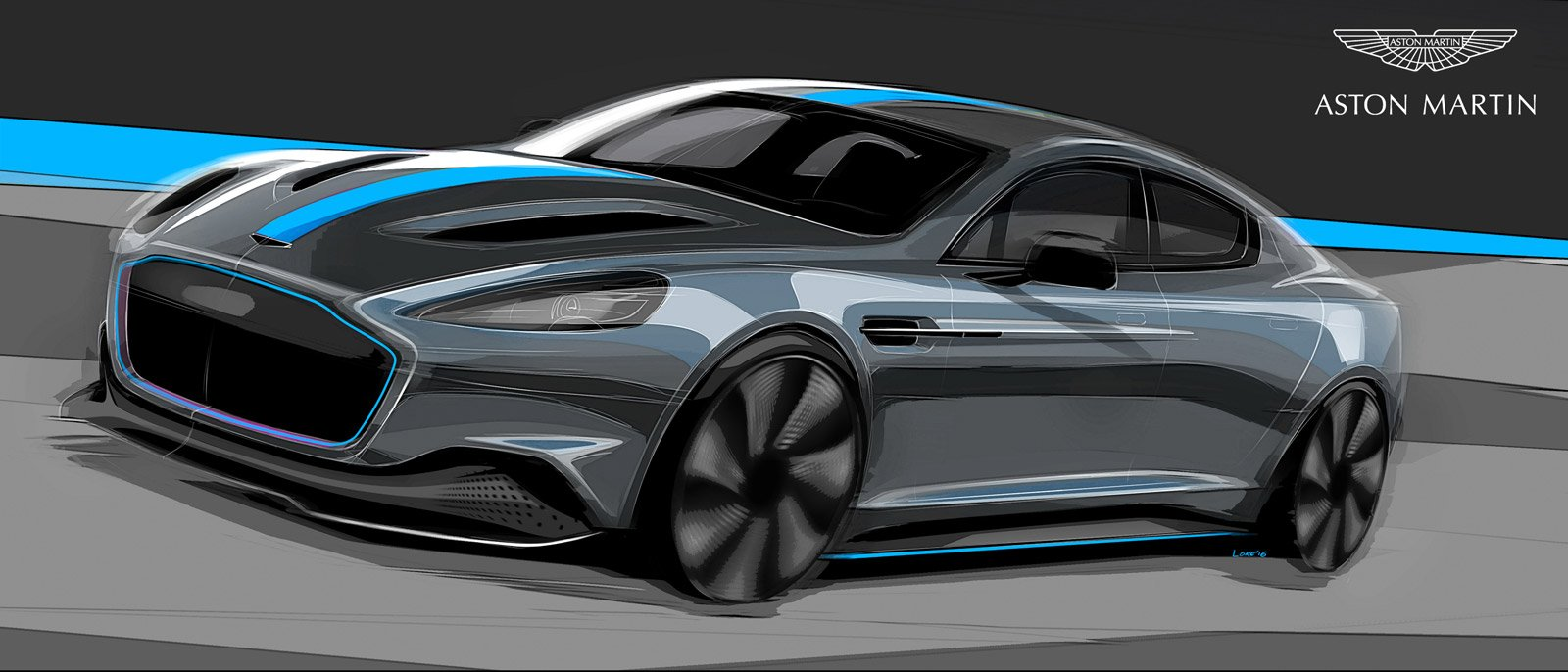 Aston Martin Is Building Its First All-Electric Car