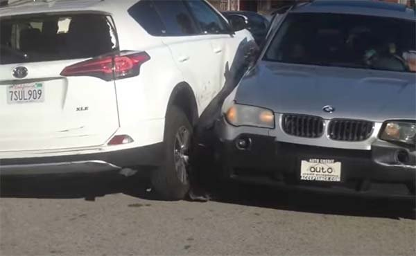 car fight