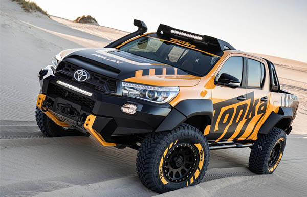This Is The Baddest Toyota Hilux Youve Ever Seen Photos
