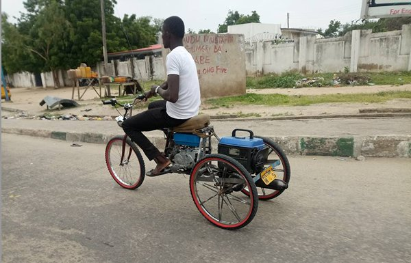 customized tricycle