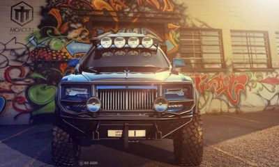 royce ghost off roader