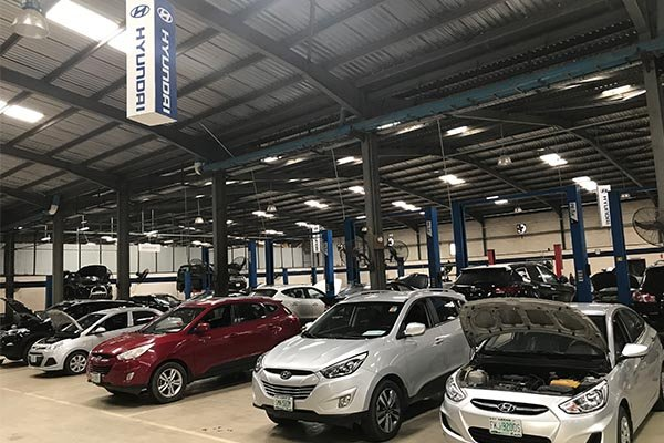 Hyundai Motors Nigeria Service Center