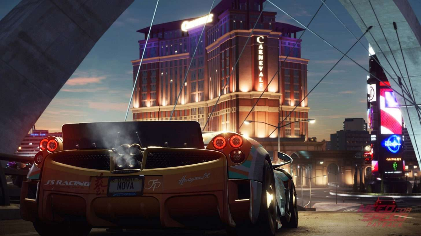 this is a list of all the cars in the need for speed payback game