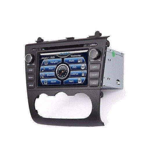 In Dash Car Navigation Systems : Nissan altima in dash gps navigation multimedia