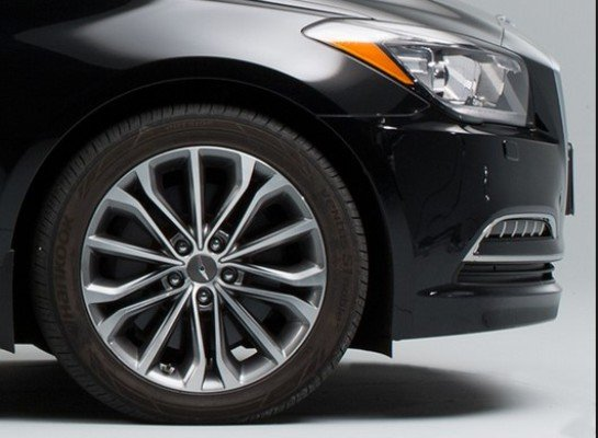 modern car tire