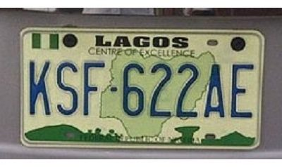 number plate categories nigeria