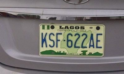 number plate category nigeria
