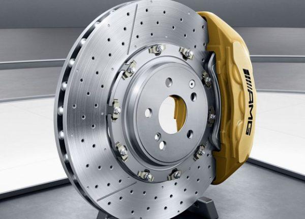 brake disc and calipers