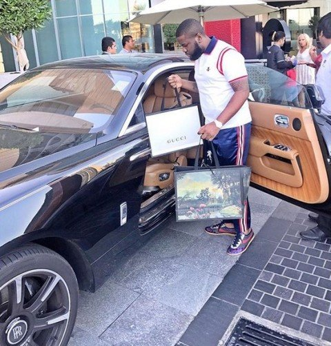 hushpuppi and his car