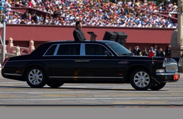 chinesse presidential car