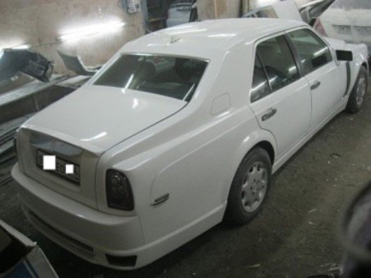 benz converted to Rolls Royce