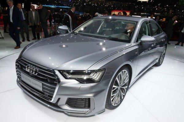 New Audi A6 front view