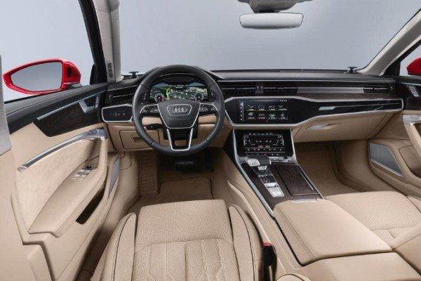 New Audi A6 interior