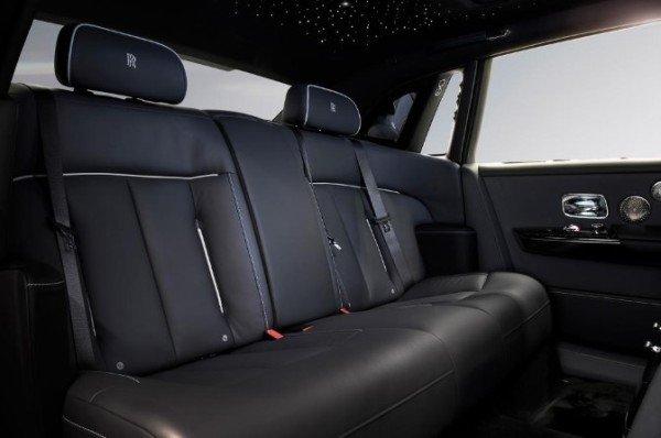 The Gentleman's Tourer rear seats