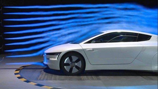 car aerodynamic test
