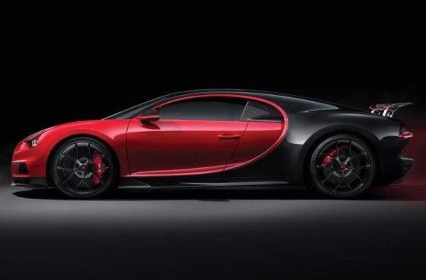 New Bugatti Chiron Sports