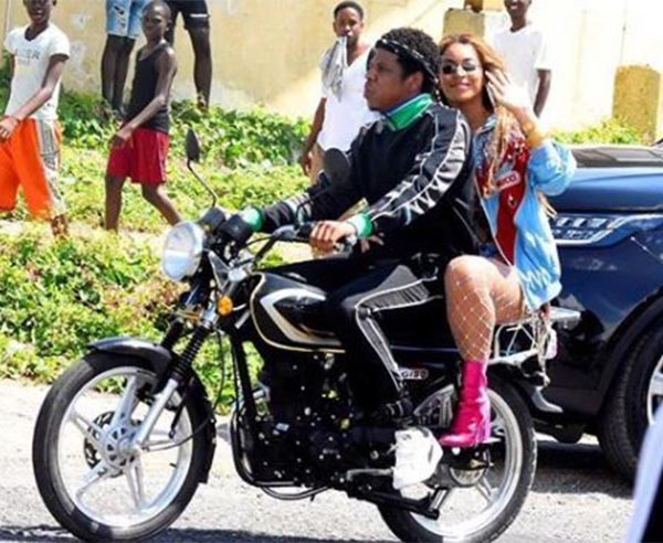 Jay-Z And Beyonce Spotted Riding Okada In Jamaica (Photos ...