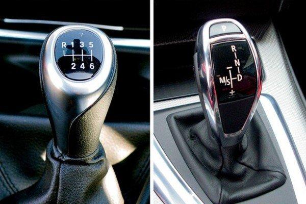 manual vs automatic gear lever
